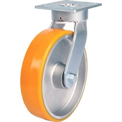 SAMSONG 重荷重用 耐熱ウレタン車(メンテナンスフリー) 自在 125mm(1個) TP6657PALPBB 7630247