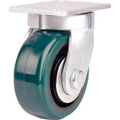 SAMSONG 高重荷重用キャスター 自在 耐熱ウレタン車200mm(1個) TP7280KPLPCI 7630328