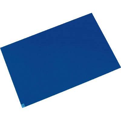 メドライン マイクロクリーンエコマット ブルー 600×1200mm(1箱) M6012B 4971167