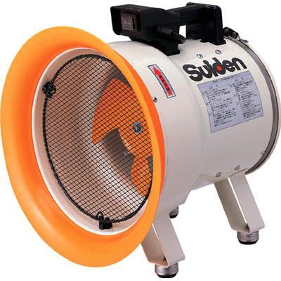 スイデン 送風機(軸流ファン)ハネ250mm 単相200V低騒音省エネ(1台) SJF250L2 3365832