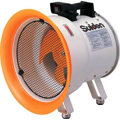 スイデン 送風機(軸流ファン)ハネ300mm単相200V低騒音省エネ(1台) SJF300L2 3365859