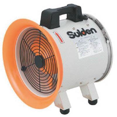 スイデン 送風機(軸流ファンブロワ) ハネ300mm 単相200V(1台) SJF300RS2 3537625