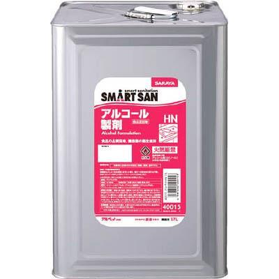 サラヤ SMART SAN食品添加物アルコール製剤 アルペットHN 17L(1缶) 40015 4919980