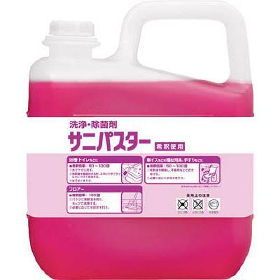 サラヤ 洗浄・除菌剤 サニパスター 5Kg(1個) 31886 4945336