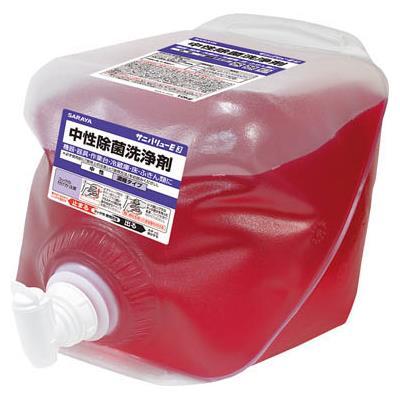 サラヤ 中性除菌洗浄剤10KG×2入(1個) 31682 7536984