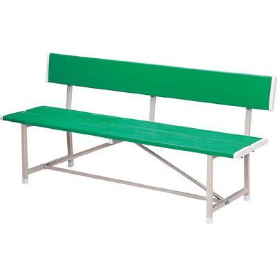 ノーリツ ベンチ(背付) 緑(1台) RBA1500 2845938