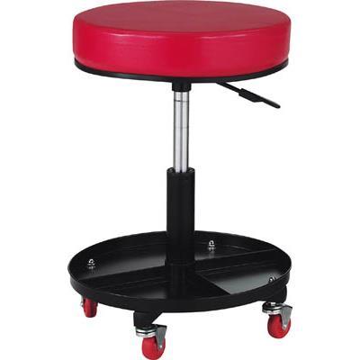 TRUSCO 工具入れ付作業椅子 Φ370XH440ー555(1脚) TWCSR 2889218