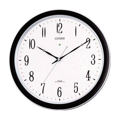 シチズン ネムリーナM691F(電波掛時計)プラスチック枠シルバーメタリック(1個) 4MY691N19 4853253