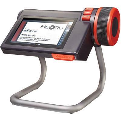 キングジム デジタル名刺ホルダ-「メックル」 黒(1台) MQ10K 4957547