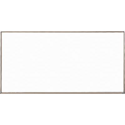 TRUSCO スチール製ホワイトボード 白暗線 ブロンズ 900X1800(1枚) WGH102SA 2884941