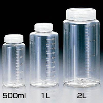 サンプラ クリアー広口ボトル 1L(50個) 2016 3540375