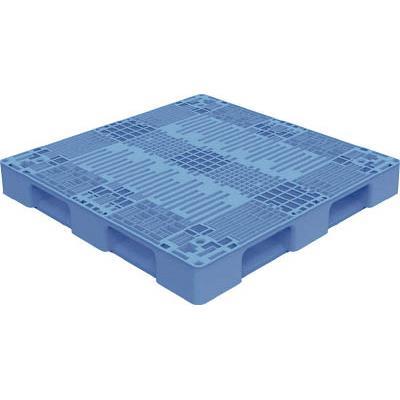 TRUSCO TMSC型樹脂パレット 1100X1100 青(1枚) TMSCP1111B 7698151
