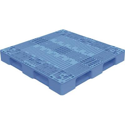 TRUSCO TMSC型樹脂パレット 1100X1100 黒(1枚) TMSCP1111BK 7698160