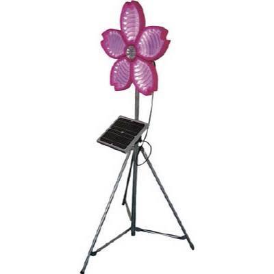 仙台銘板 桜サークラー ソーラー式大型回転灯 三脚付 電源セット 3050800 8184908