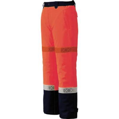 高視認防寒ウエア 4991714486142 ジーベック 800 高視認防水防寒パンツ LL オレンジ 80082LL 7996306