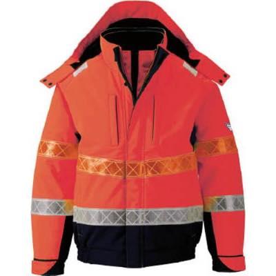 ジーベック 802 高視認防水防寒ブルゾン L オレンジ 80282L 7996454