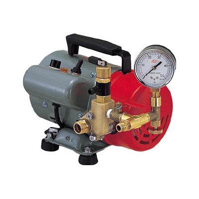 玄関先迄納品 1116029:イチネンネット 電動式(1台) 寺田 PP401T 水圧テストポンプ-DIY・工具