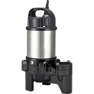 ツルミ 樹脂製汚物用水中ハイスピンポンプ 60HZ(1台) 40PU2.25 2232294