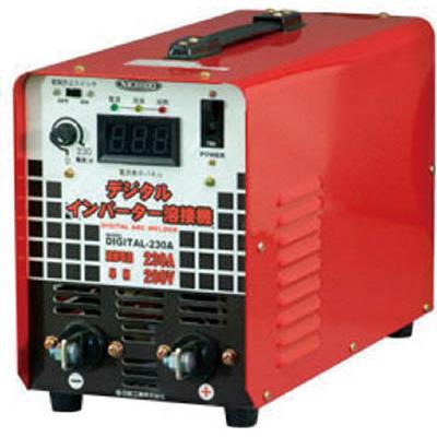 正規激安 デジタルインバータ溶接機 直流溶接機 3949907:イチネンネット DIGITAL230A 単相200V専用230A(1台) 日動-DIY・工具