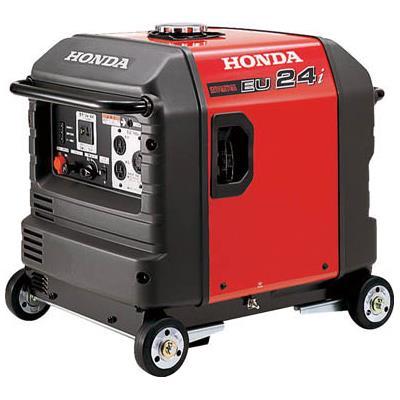 HONDA 防音型インバーター発電機 2.4kVA(交流/直流)車輪付(1台) EU24IK1JNA3 4515196