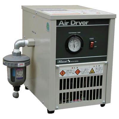日本精器 冷凍式エアドライヤ3HP(1台) NH8007N 4840887