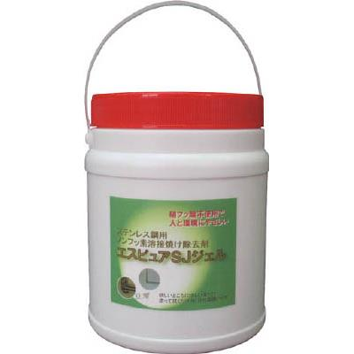 佐々木化学 ステンレス溶接焼け除去剤エスピュア SJジェル 1kg(1個) SJJEL1000G 4903692
