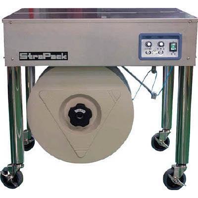 【代引不可】ストラパック 半自動梱包機 多湿環境用 下部カバーなし D55SUS 8246633