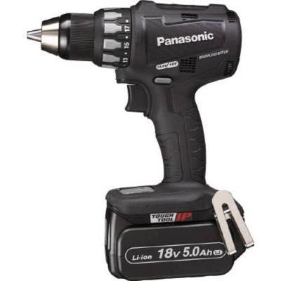 流行 (黒) EZ74A2LJ2GB 5.0Ah Panasonic 18V 7764570:イチネンネット 充電ドリルドライバー-DIY・工具