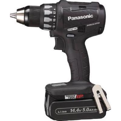 """充電ドリルドライバー""""Dual""""(14.4V/18V) 4549077465412 Panasonic 充電ドリルドライバー 14.4V 5.0Ah (黒) EZ74A2LJ2FB 7771681"""