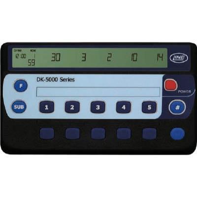 ライン精機 電子数取器 10連式 DK5010B 7782306