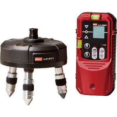 レーザー自動追尾台セット 4902870799526 MAX 自動追尾台セット LA-NV1/D5NVSET LANV1/D5NVSET 7996721