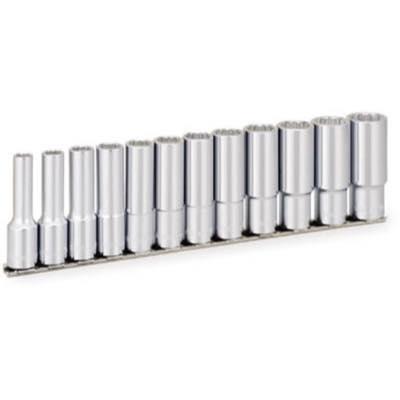 TONE ディープソケットセット(12角・ホルダー付)インチサイズ 12pcs HDBL412 8109747