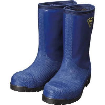 SHIBATA 冷蔵庫用長靴-40℃ NR021 26.0 ネイビー NR02126.0 8190387