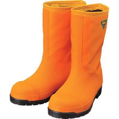 SHIBATA 冷蔵庫用長靴-40℃ NR031 27.0 オレンジ NR03127.0 8190396