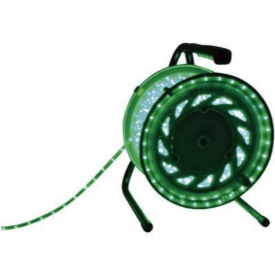 日動 LEDラインチューブドラム緑 RLL30SG 7875665
