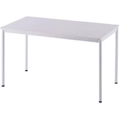 アールエフヤマカワ RFシンプルテーブル W1200×D700 ホワイト RFSPT1270WH 8195199