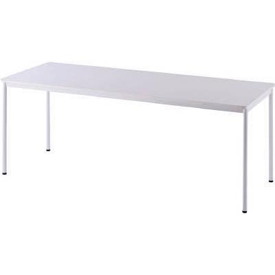 アールエフヤマカワ RFシンプルテーブル W1800×D700 ホワイト RFSPT1870WH 8195205