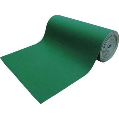 新品登場 吸油・吸水ロールマット TFGN925 緑 幅900mmx25m TRUSCO 7915802:イチネンネット-DIY・工具