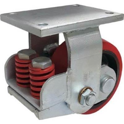 SAMSONG スプリング機能付きキャスター 固定150mm 耐荷重900kg TP7561RPCIBB 7959745