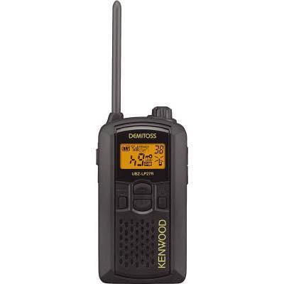 ケンウッド 特定小電力トランシーバー(交互通話) UBZLP27RB 8049572