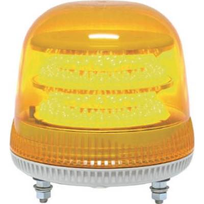 NIKKEI ニコモア VL17R型 LED回転灯 170パイ 黄 VL17M100APY 8183308