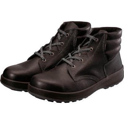 シモン 3層底安全編上靴 WS22BK26.0 8192406