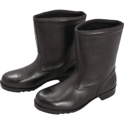 ミドリ安全 ゴム底安全靴 半長靴 V2400N 24.5CM V2400N24.5 8217958