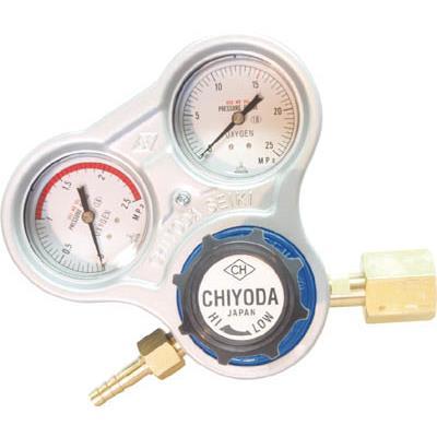 千代田 酸素用調整器スタウト(関東式)(1個) SROE 3552667