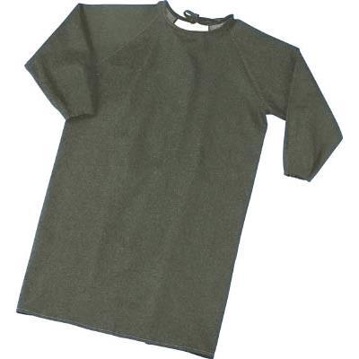 TRUSCO パイク溶接保護具 袖付前掛け Lサイズ(1着) PYRSMKL 4027035
