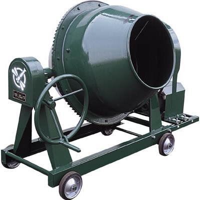 トンボ グリーンミキサ2.5切丸ハンドル車輪モーター付(1台) NGM2.5BCM4 4028490