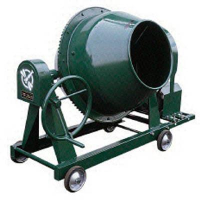 【代引不可】トンボ グリーンミキサ4切丸ハンドル車輪モーター付(1台) NGM4M15 4028520