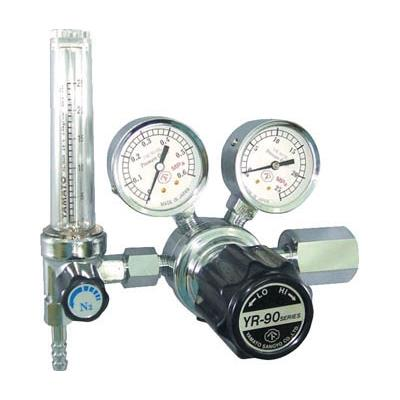 汎用小型圧力調整器 YR-90F(流量計付)(1個) YR90FARTRC 4346793