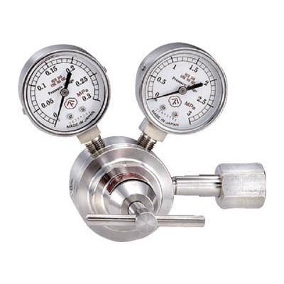 腐食性ガス用圧力調整器 YS-1(1個) YS1SO2 4346955
