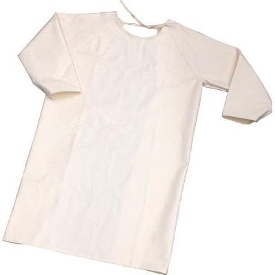 TRUSCO 難燃加工綿保護具 袖付前掛け LLサイズ(1着) TBKSMKLL 4842863